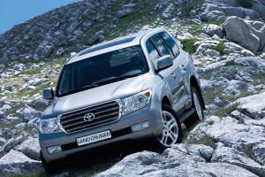 ГБО на Toyota Land Cruiser 100